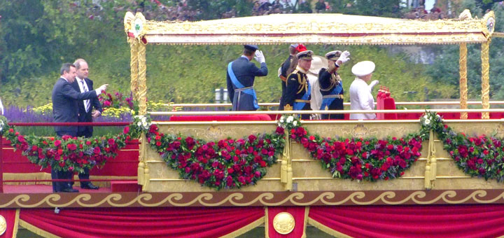 Royal Barge for the Jubilee River Pageant